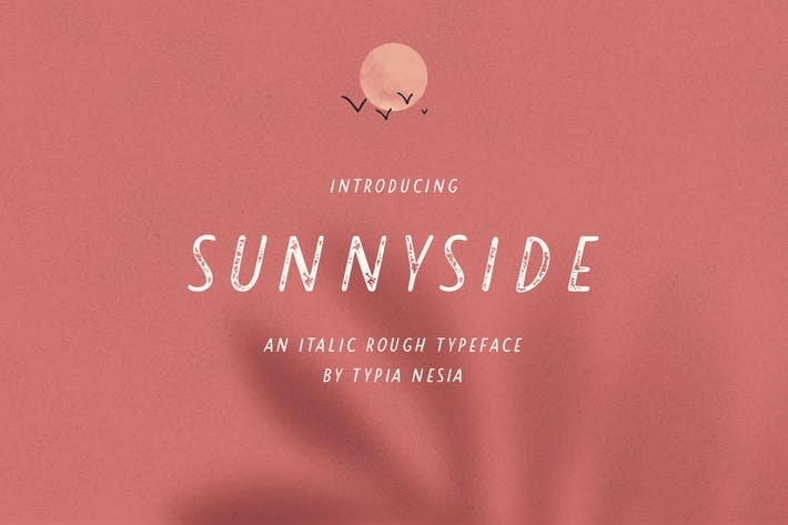 Thumbnail for Sunnyside Rough Sans
