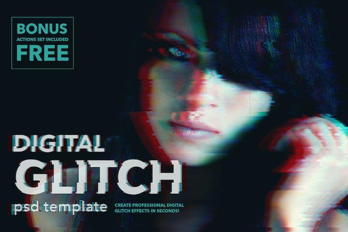 Thumbnail for Impresionantes efectos de Glitch Digital