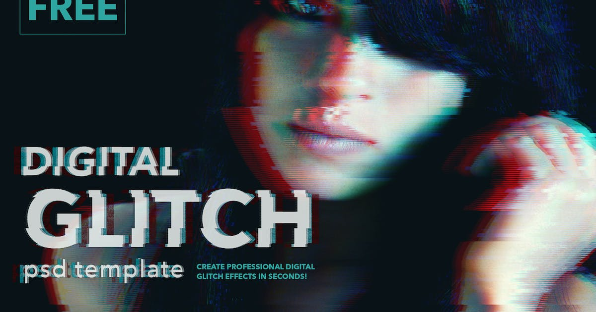 Download Awesome Digital Glitch Effects by twinbrush