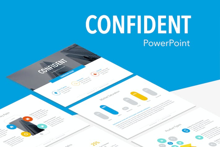 Thumbnail for Confident PowerPoint Template