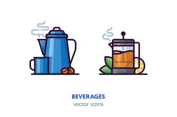 Thumbnail for Beverages icons