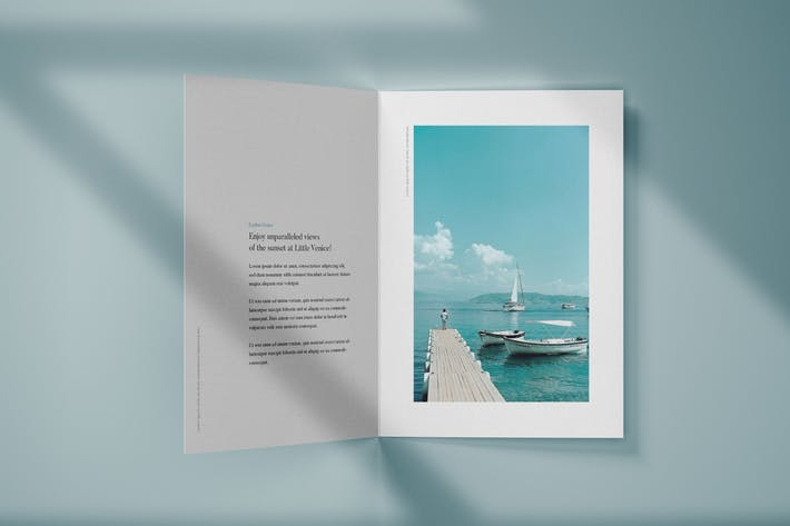 Thumbnail for Vertical Bifold Brochure Mockup