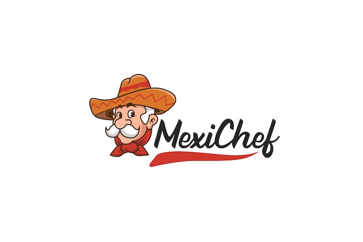 Cover Image For Mexican Food Logo Template