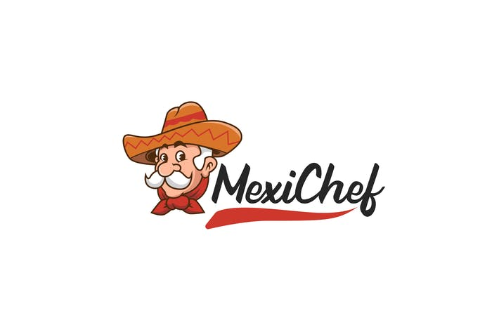 Thumbnail for Mexican Food Logo Template