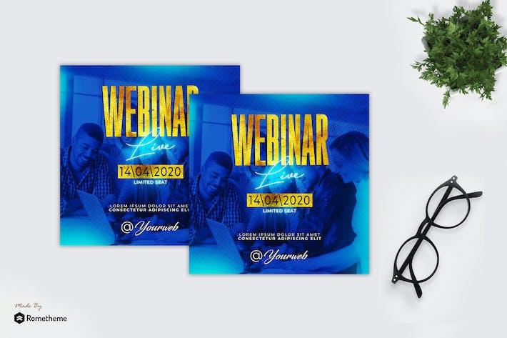 Thumbnail for Webinar Live - Flyer MR