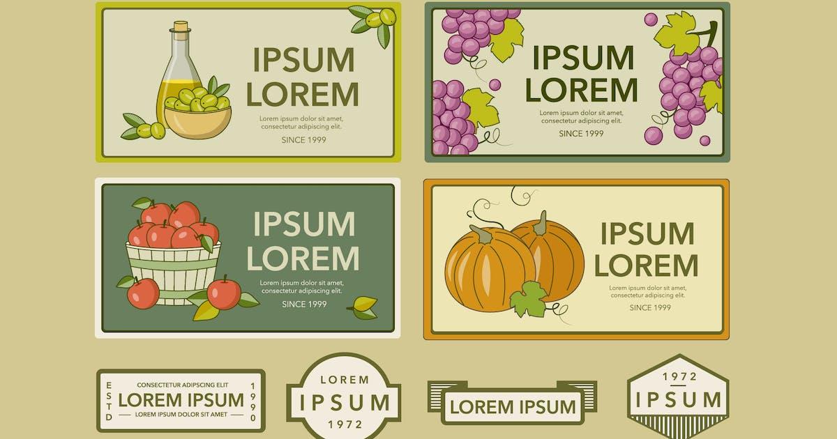 Download Vintage Juice Labels by Jumsoft