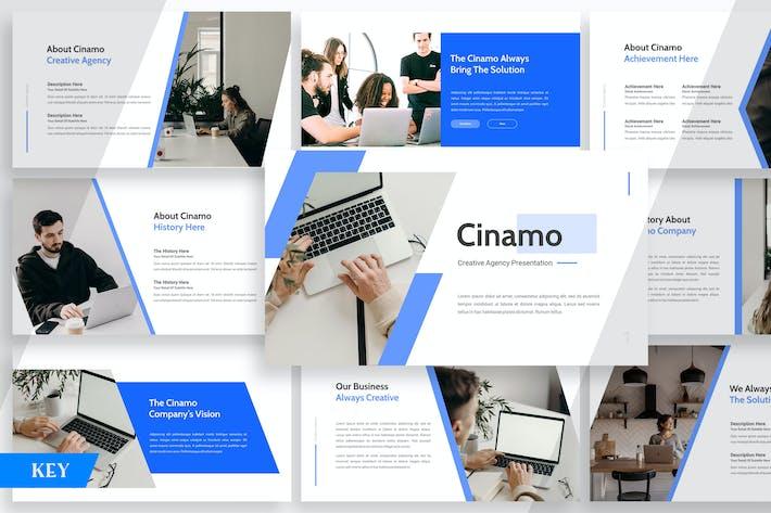 Thumbnail for Cinamo Company Profile - Keynote