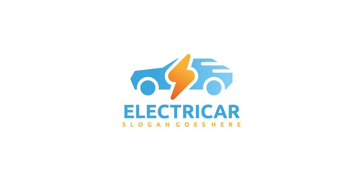 Download Electric Car Logo by 3ab2ou