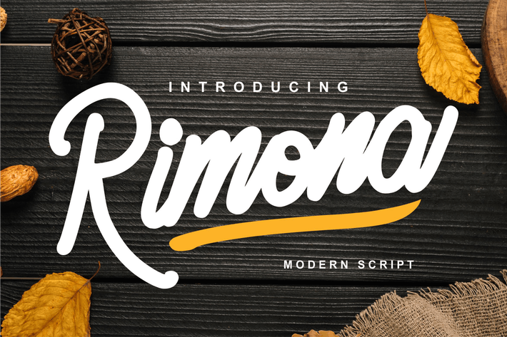 Thumbnail for Rimona - Modern Script