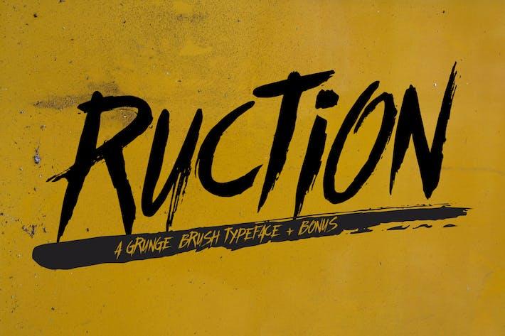 Thumbnail for Tipo de letra Ruction