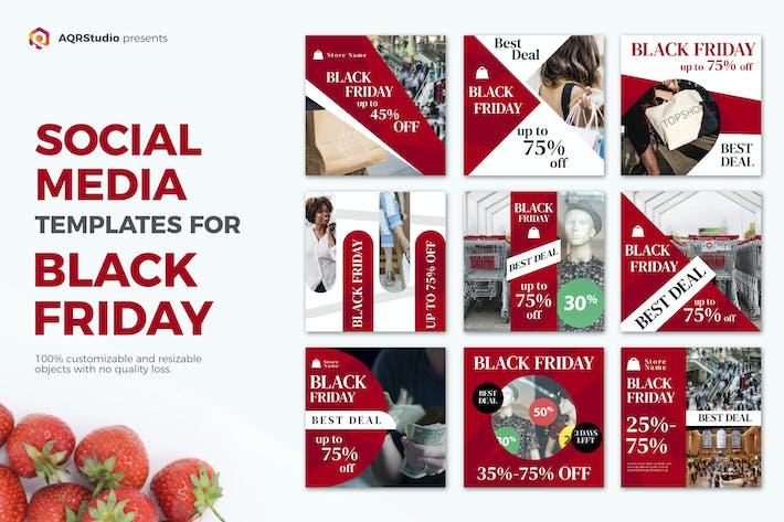 Thumbnail for Black Friday Social Media Posts