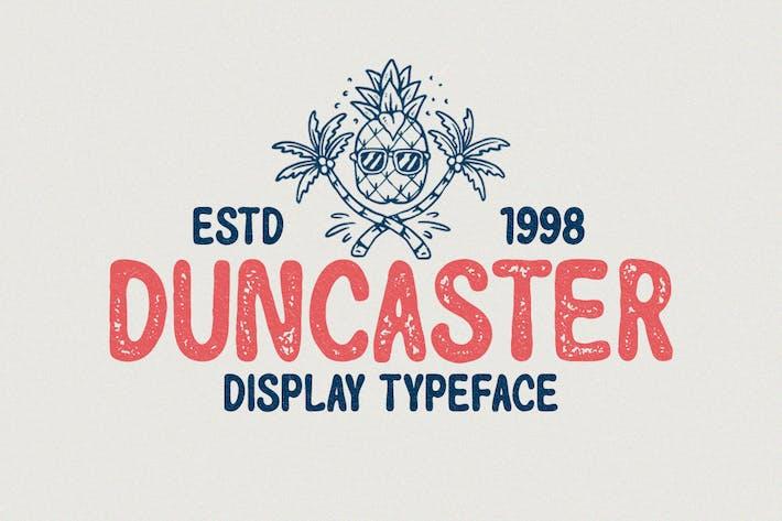 Duncaster - Tipo de letra de visualización