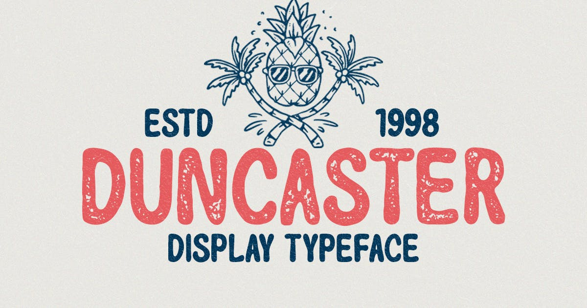 Download Duncaster - Display Typeface by letterhend