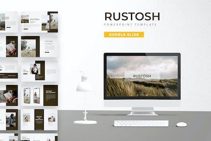 Rustosh - Google Slide Template