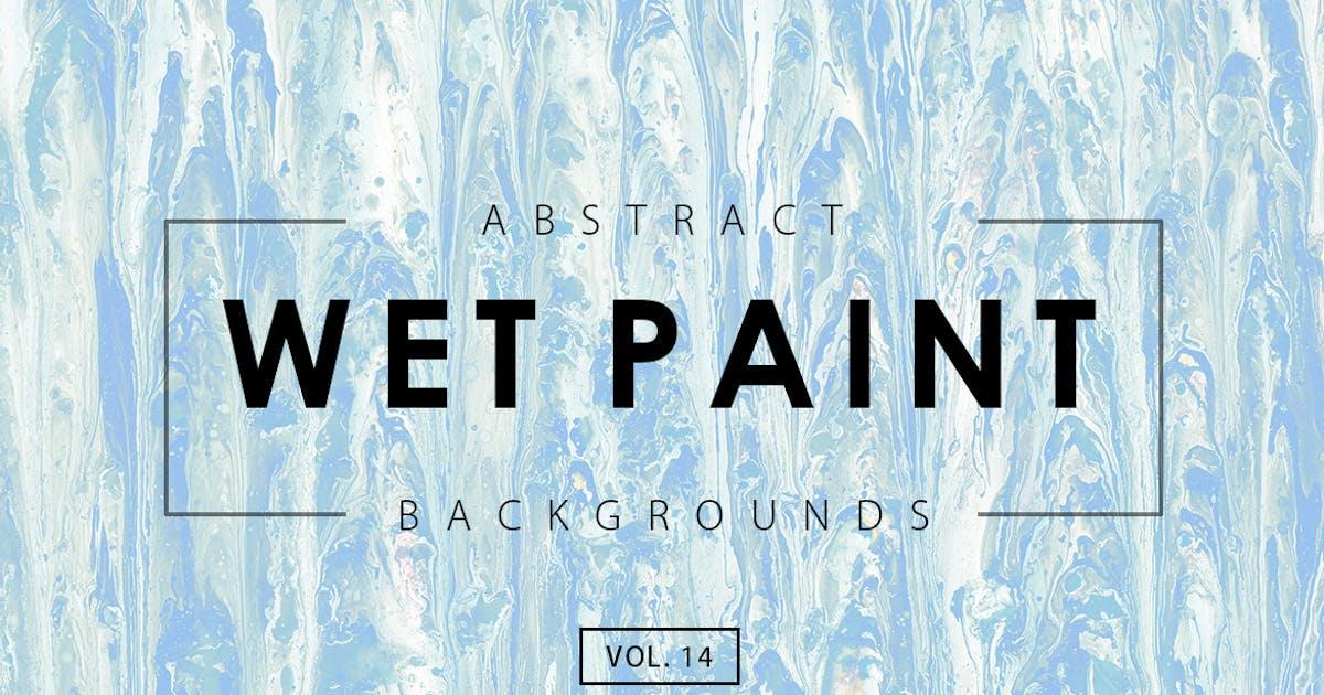 Wet Paint Backgrounds Vol. 14 by M-e-f