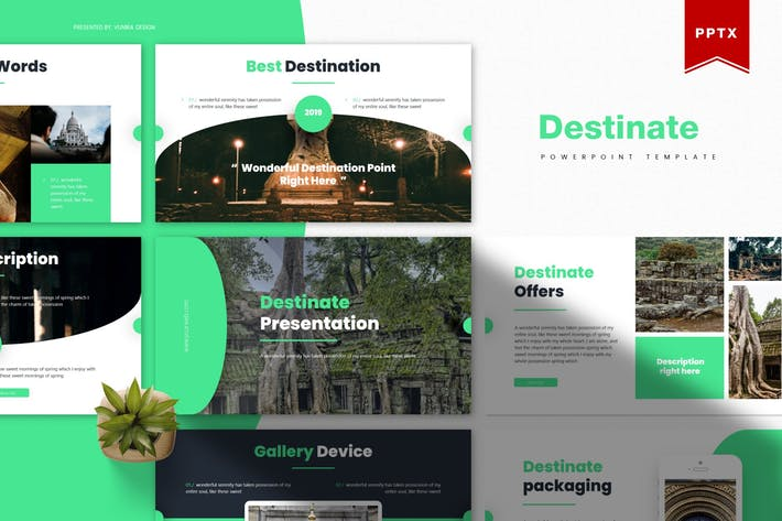 Thumbnail for Destinate | Powerpoint Template