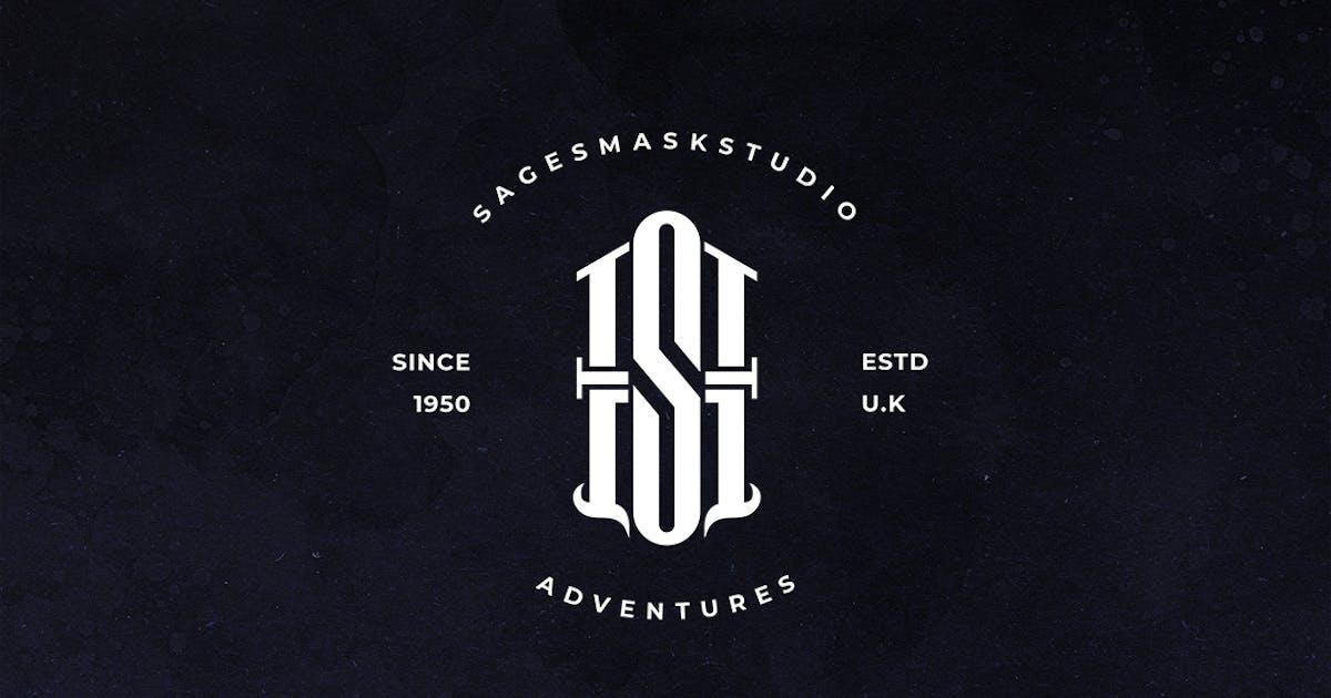 Download AS Monogram Logo by sagesmask