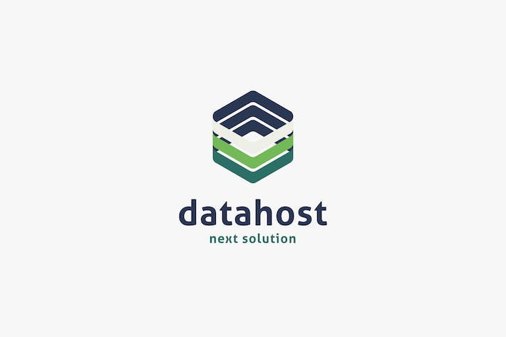 Thumbnail for Data Host Logo Template