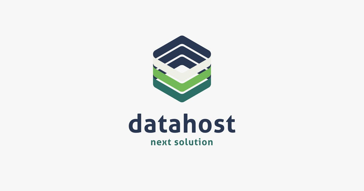 Download Data Host Logo Template by MuseFrame