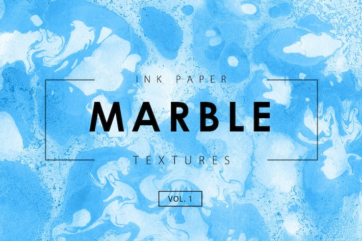Cover Image For Marble Ink Textures 1