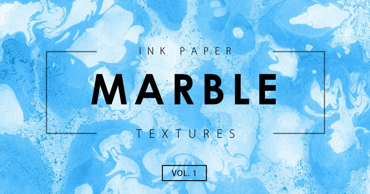 Marble Ink Textures 1 by M-e-f