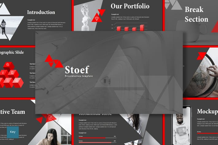 Cover Image For Stoef - Keynote Template