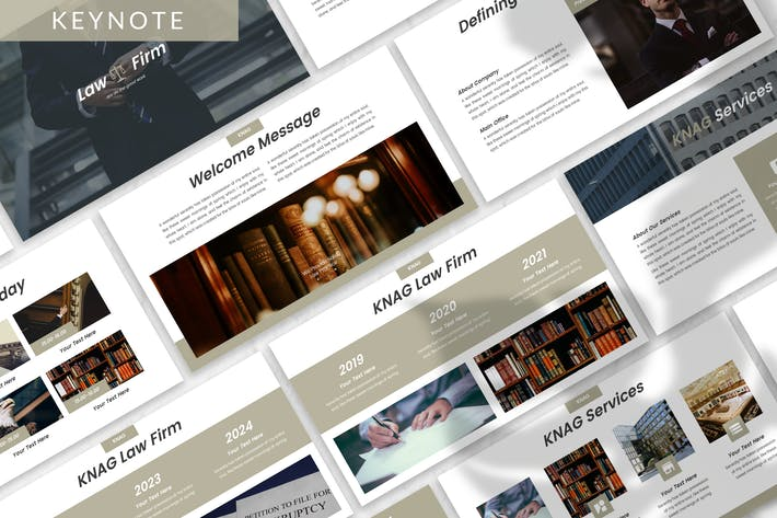 Thumbnail for Knag - Firm Keynote Template