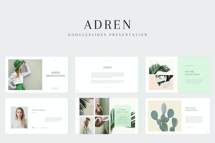 Thumbnail for Adren - Google Slides Template