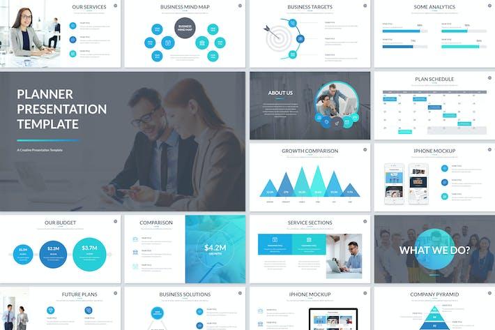 Thumbnail for PowerPoint Vorlage für Planerpräsentation