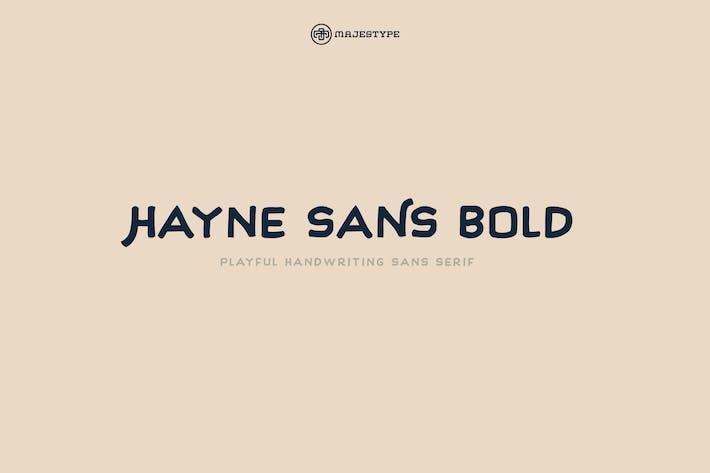 Thumbnail for Hayne Sans Bold