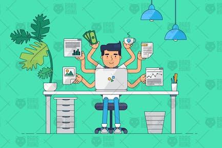 3 Conceptos profesionales del lugar de trabajo