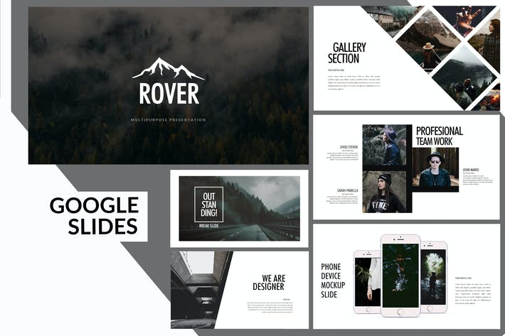 Rover Adventure - Wild Forest Google Slides