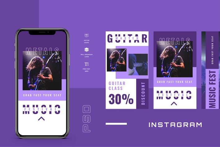 Thumbnail for Thirdten - Instagram Stories - Social Media Kit