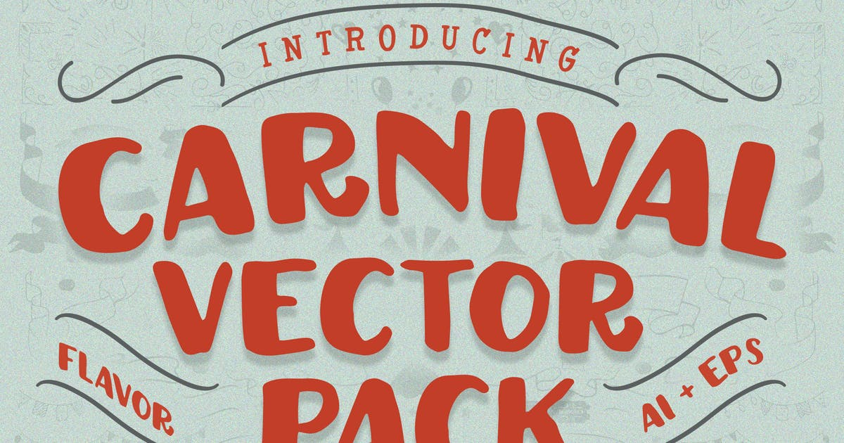 Download carnival vector pack by Flavortype