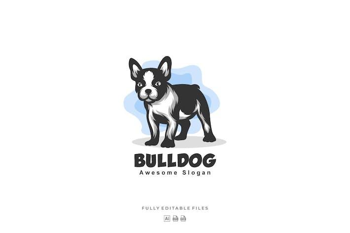 Thumbnail for French Bulldog Color Mascot Logo