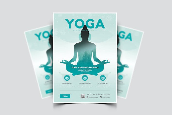 Thumbnail for Yoga Flyer 04