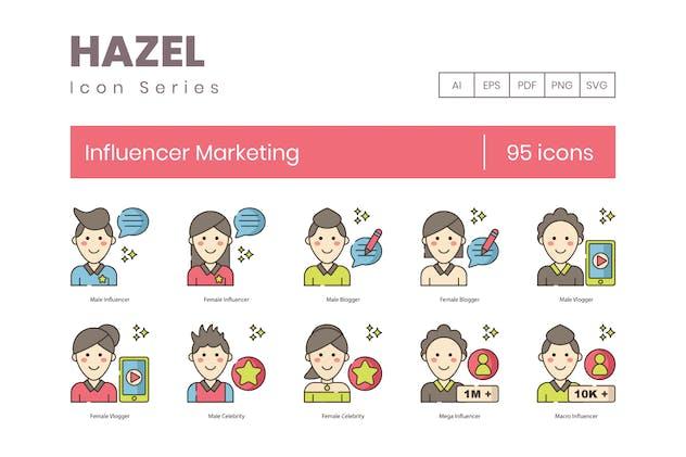 95 Influencer Marketing | Hazel Series