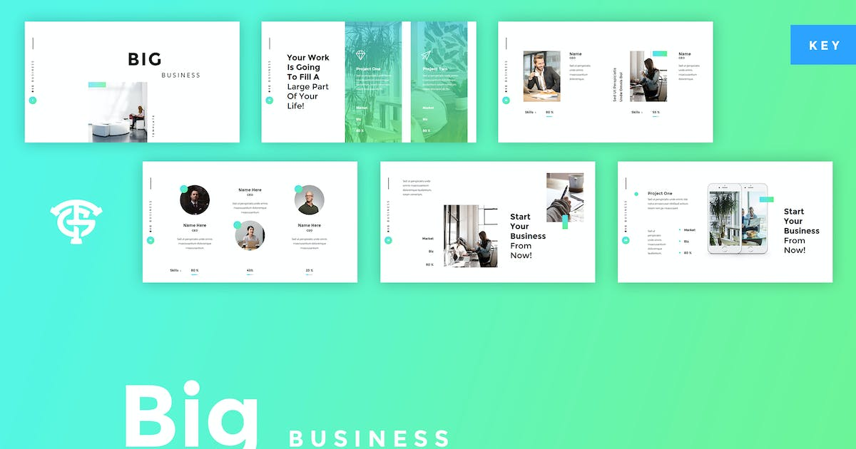 Download Big Business - Keynote by graptailtype