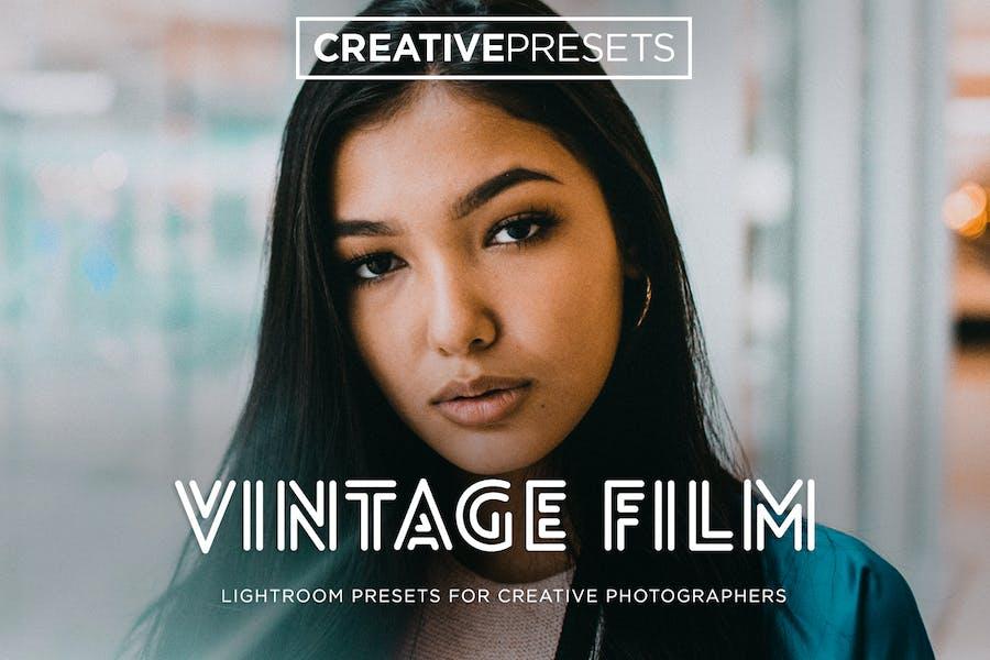 ✨Vintage Film Lightroom Preset