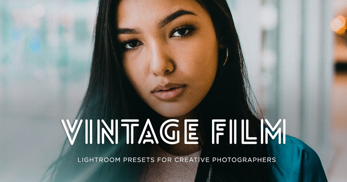 ✨Vintage Film Lightroom Preset by 2FX on Envato Elements