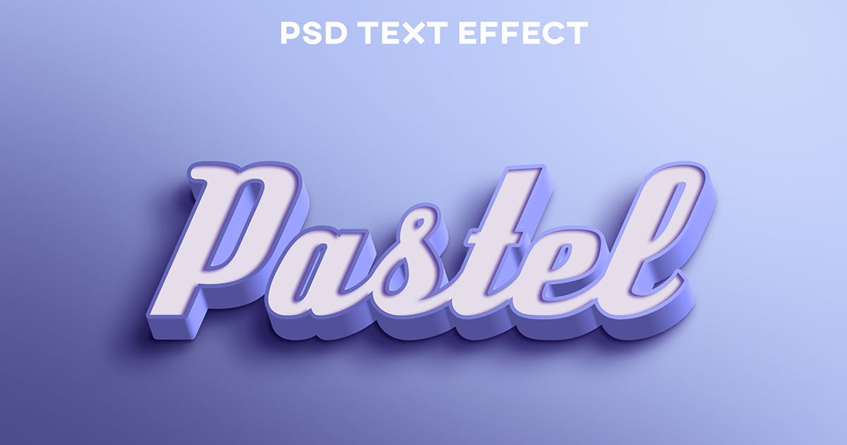 Download Purple pastel elegant text effect by wudelmbois