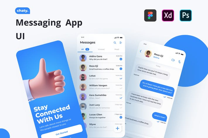 Chaty - Messaging App