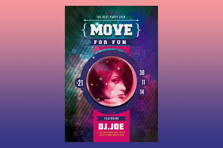 Thumbnail for Affiche Move for Fun dépliant