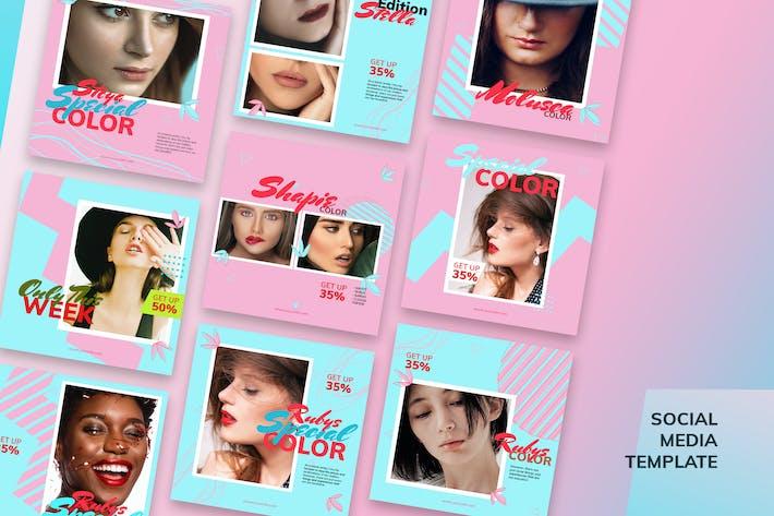 Thumbnail for Cosmetic Social Media Kit