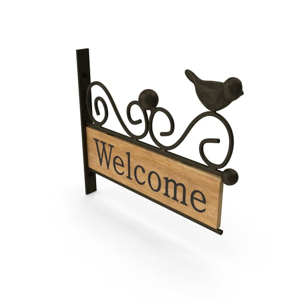 Thumbnail for Welcome Sign