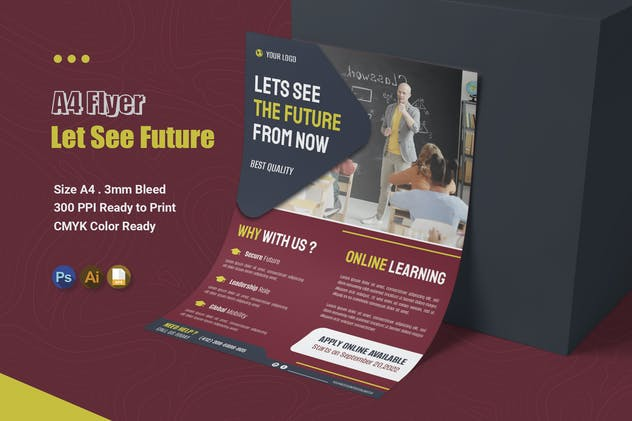 Lets See the Future - Flyer