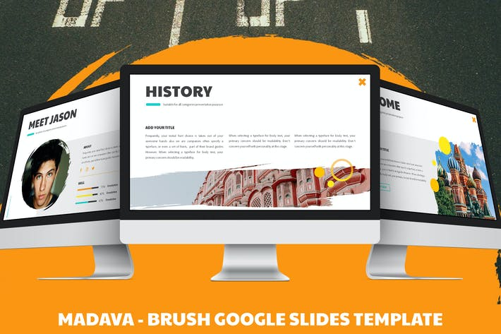 Thumbnail for Madava - Brush Google Slides Template