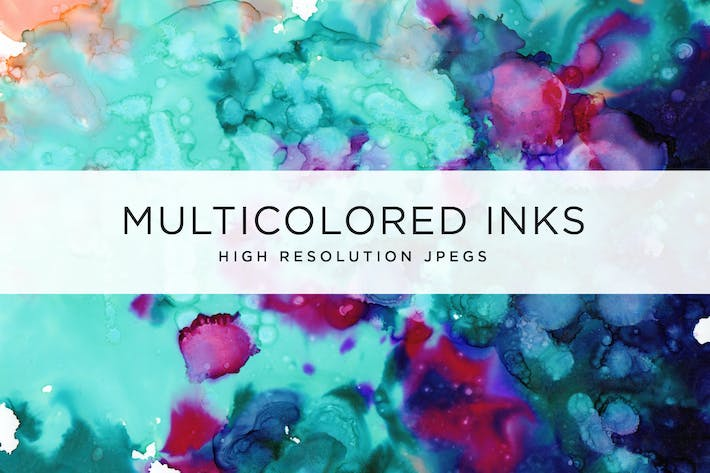 Thumbnail for Multicolored Inks - Volume 1