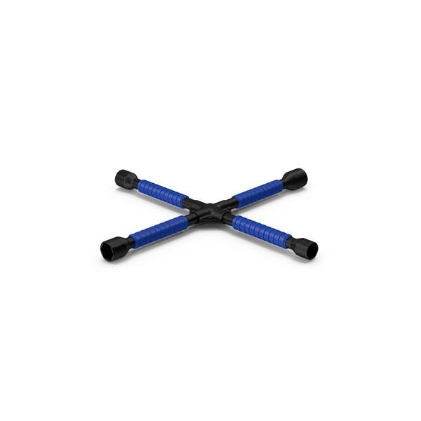Сверхмощный противоскользящий крестообразный ключ