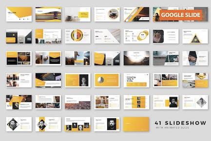 Frische Präsentation Google Slide